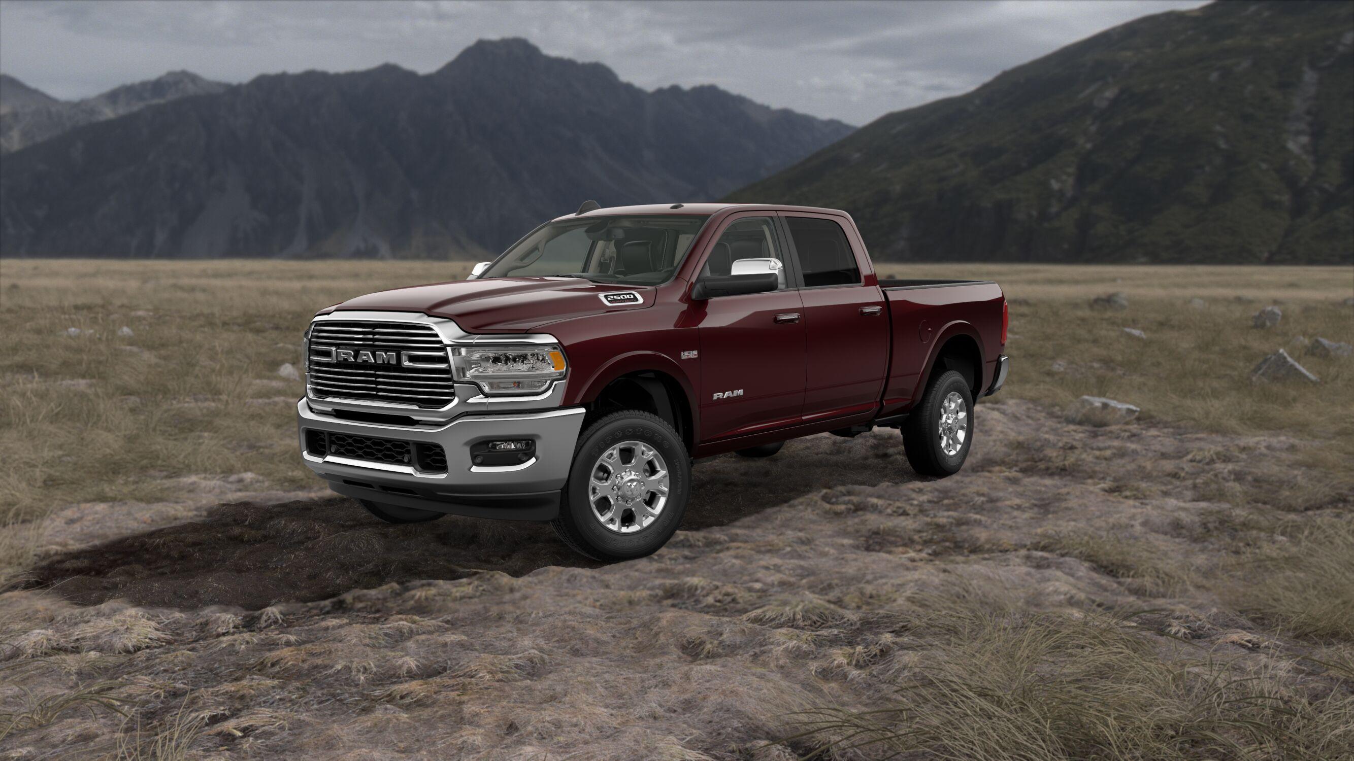 2019 Ram 2500 Laramie Red Exterior Front