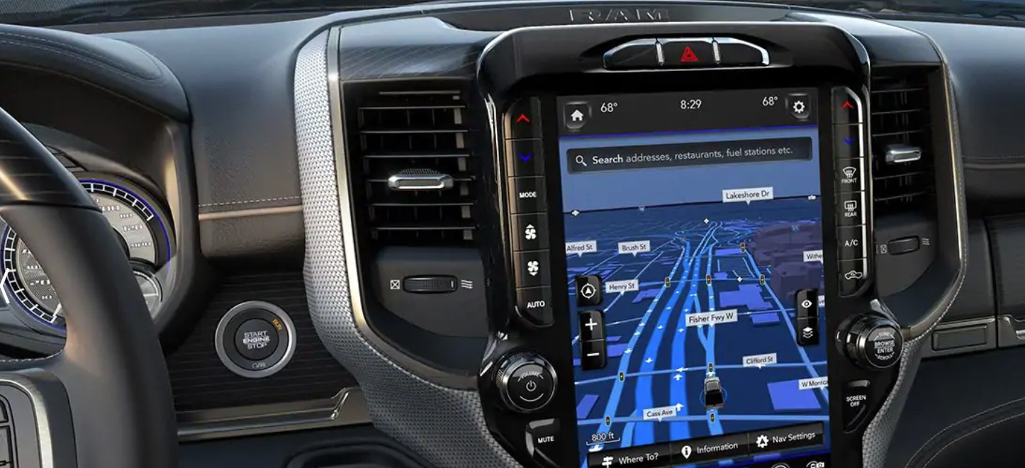2019 Ram 2500 Front Dashboard Interior