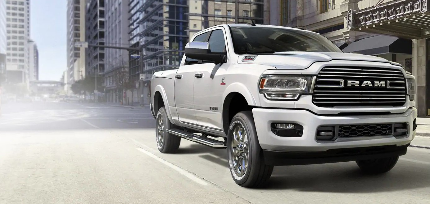 2019 Ram 2500 Front White Exterior