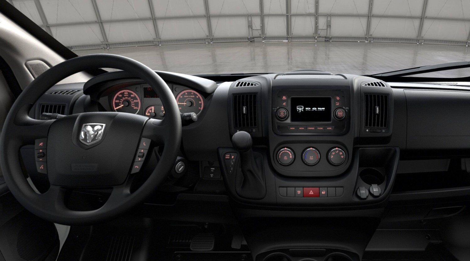 2019 Ram ProMaster 1500 Dashboard Interior