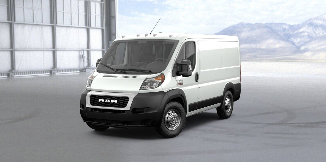 2019 Ram ProMaster 1500 Front White Exterior