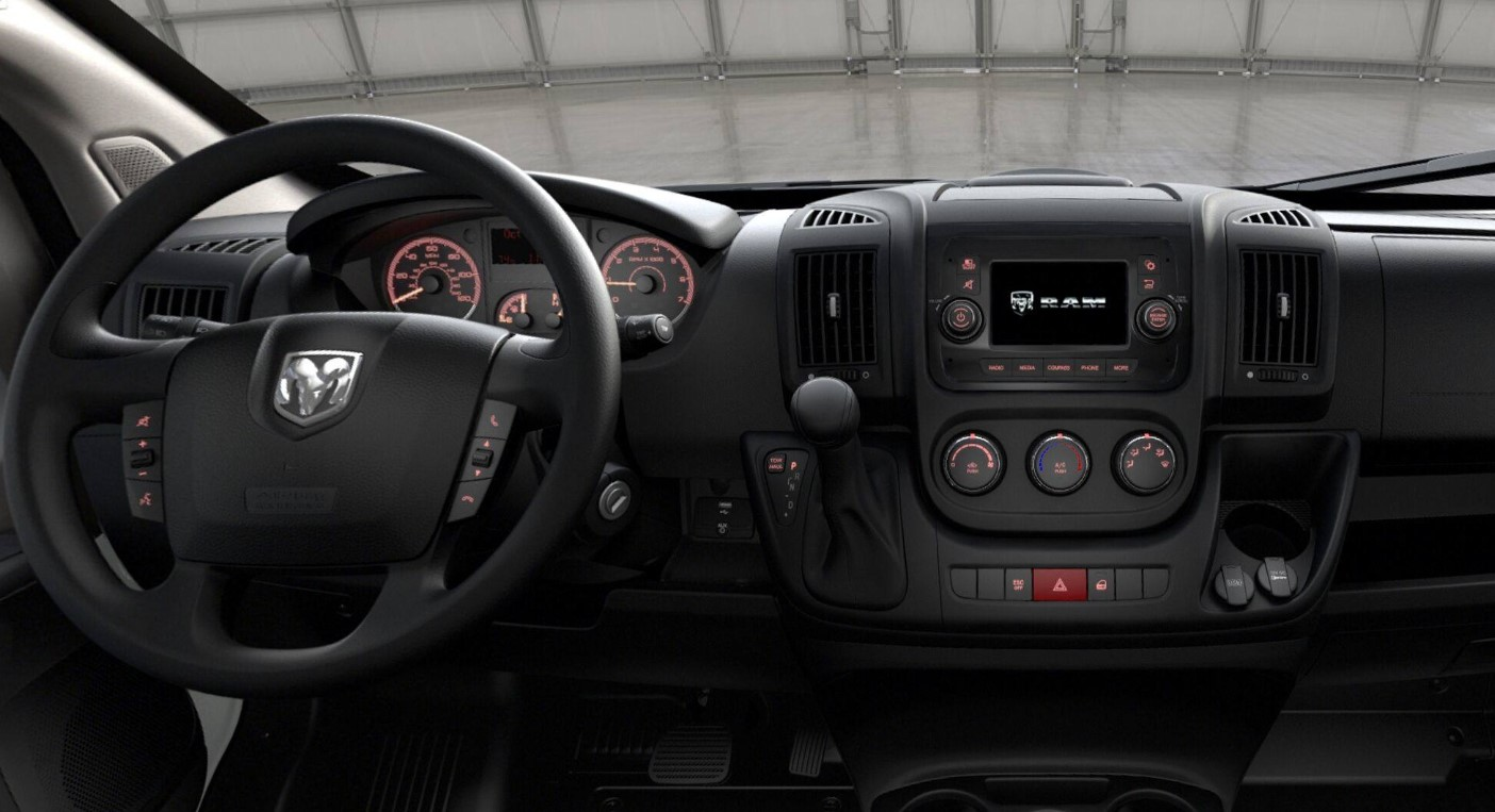 2019 Ram ProMaster 2500 Dashboard Interior