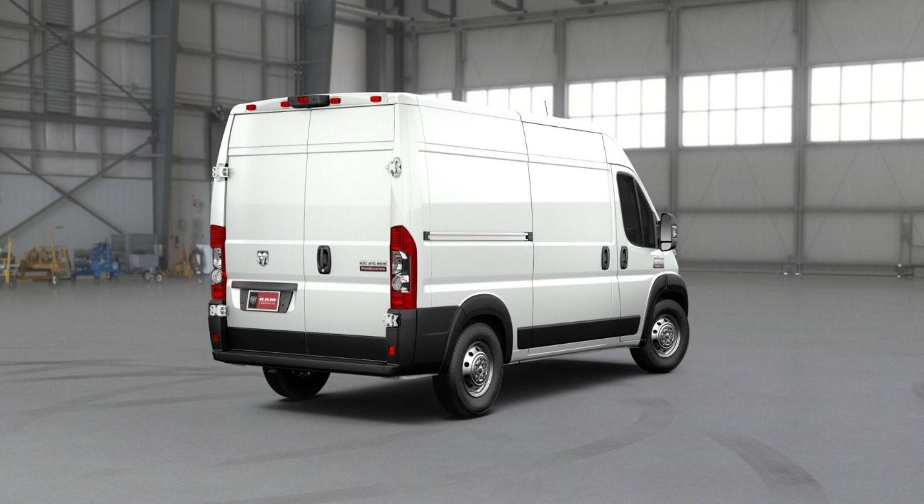 2019 Ram ProMaster 2500 White Exterior
