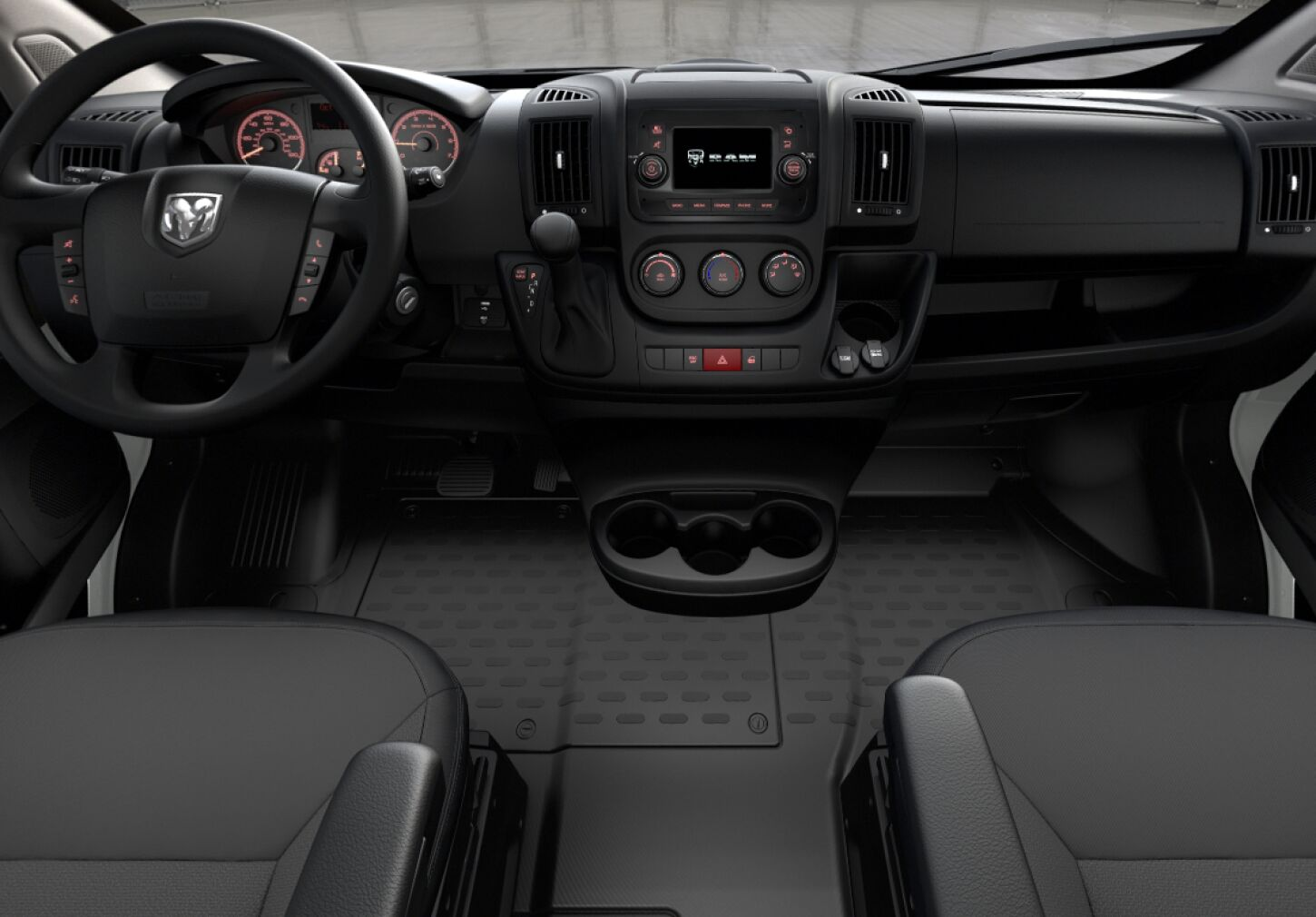 2019 Ram ProMaster Cargo Van High Roof Front Interior Dash Picture