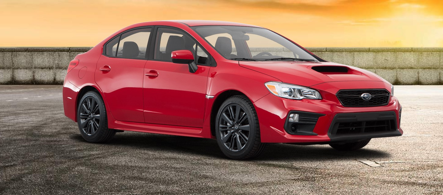 2019 Subaru WRX Base Red Exterior Front Picture