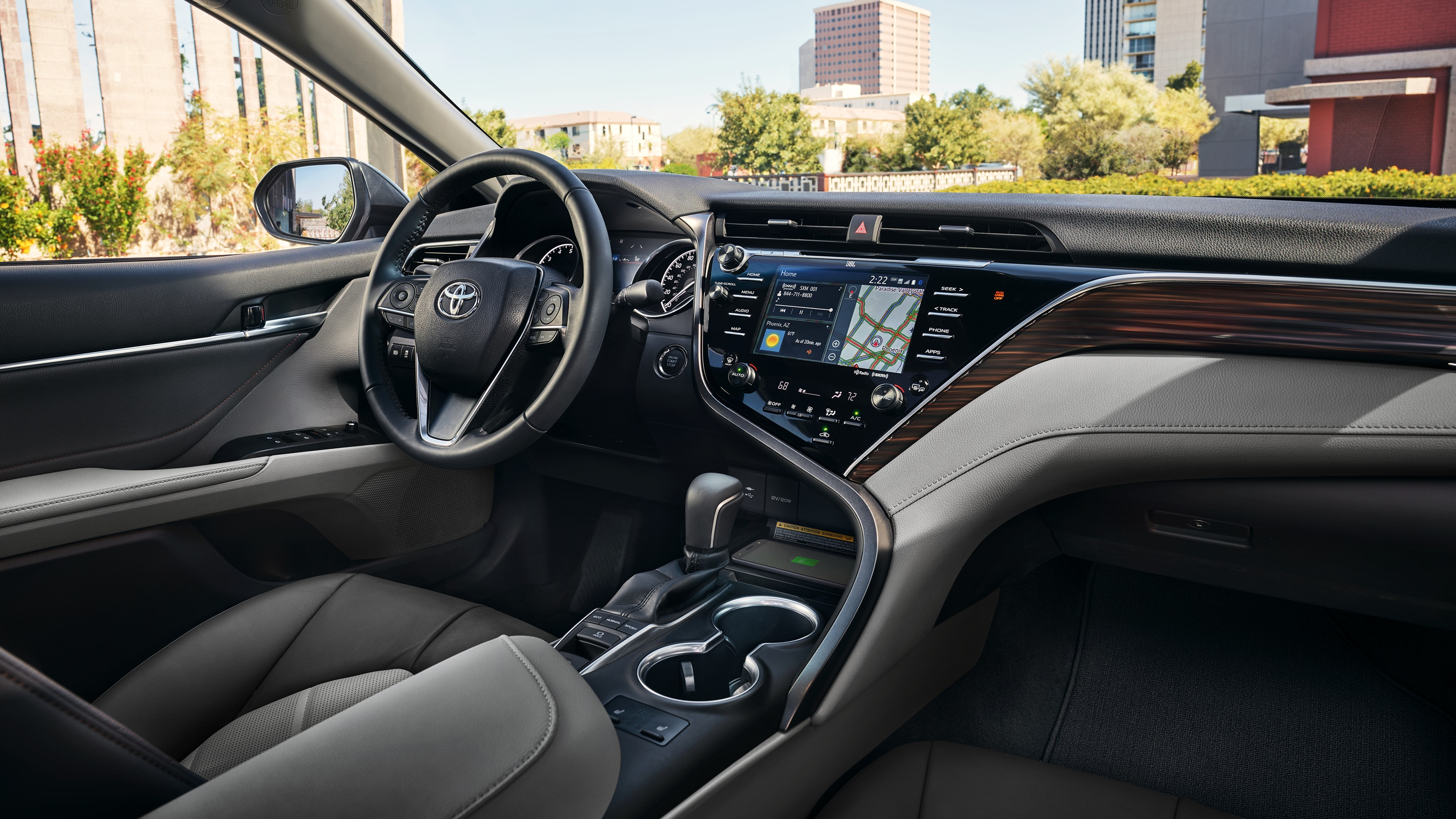 2019 Toyota Camry Front Dashboard Interior