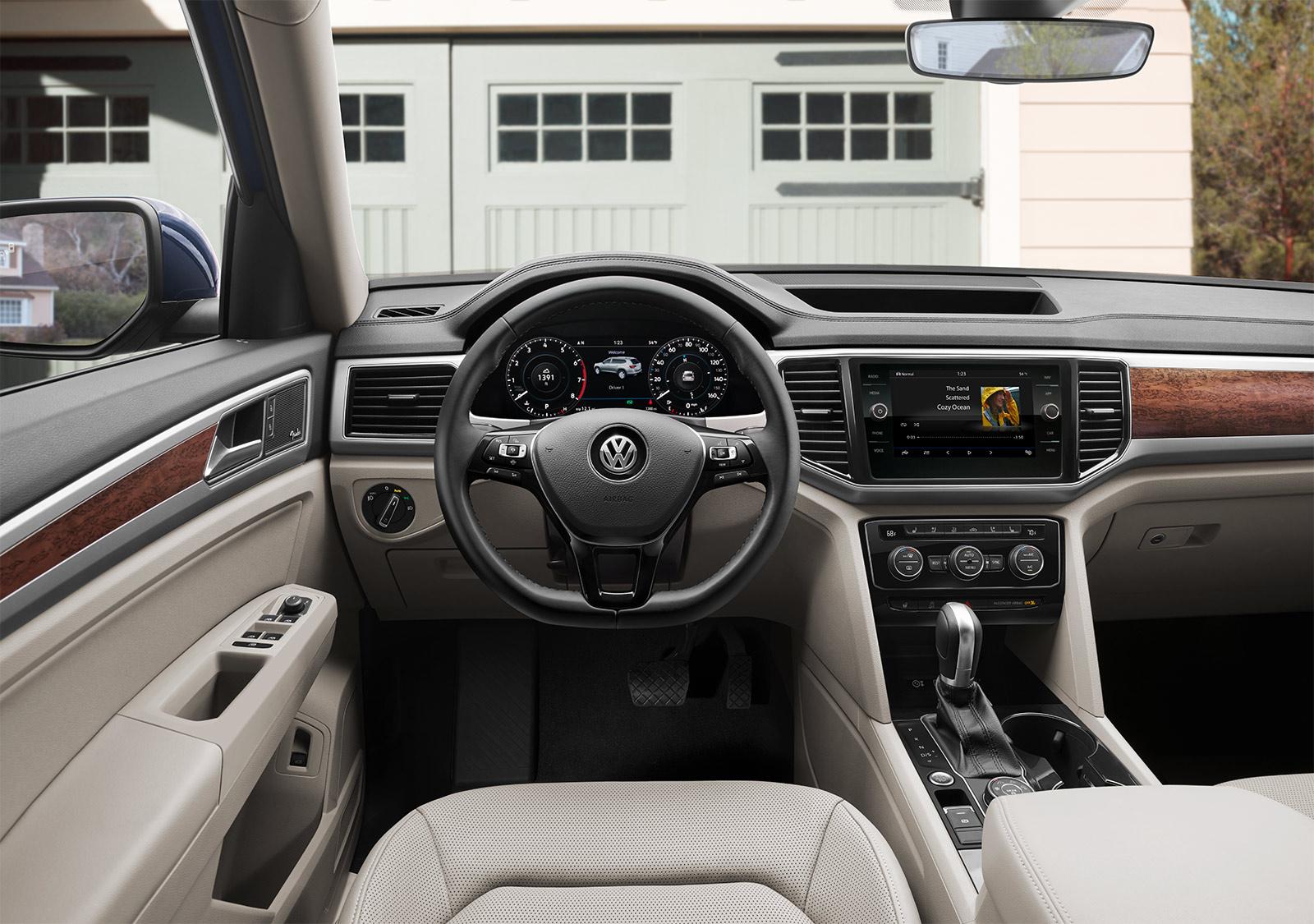 New Volkswagen Atlas Interior