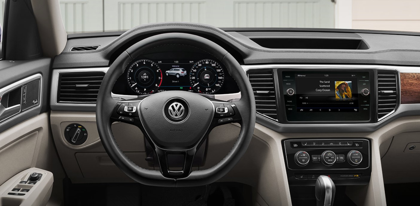 2019 Volkswagen Atlas Dashboard Interior