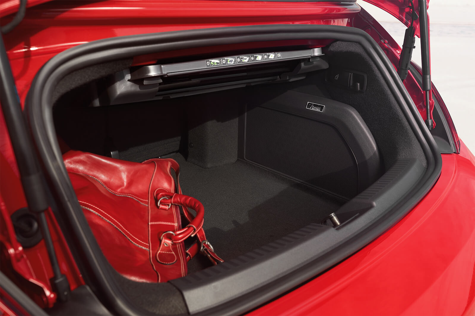 2019 Volkswagen Beetle Convertible SE Interior Trunk Red Picture