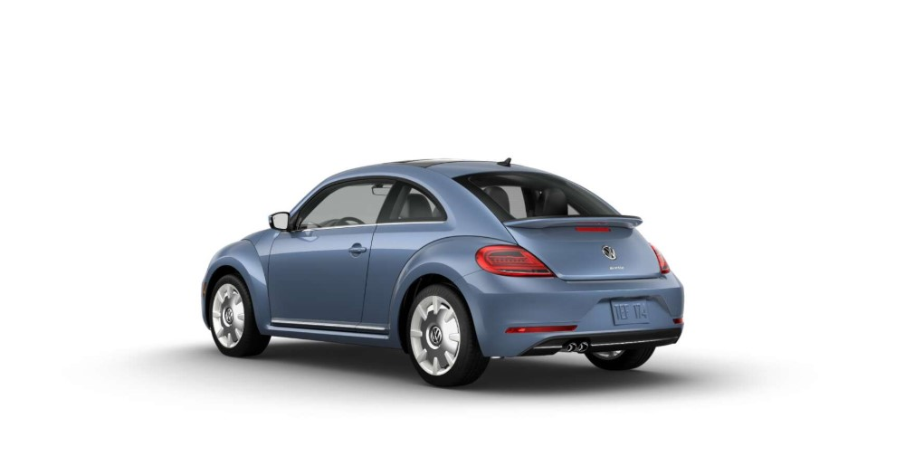 2019 Volkswagen Beetle Final Edition SEL Stonewashed Blue Exterior Rear View