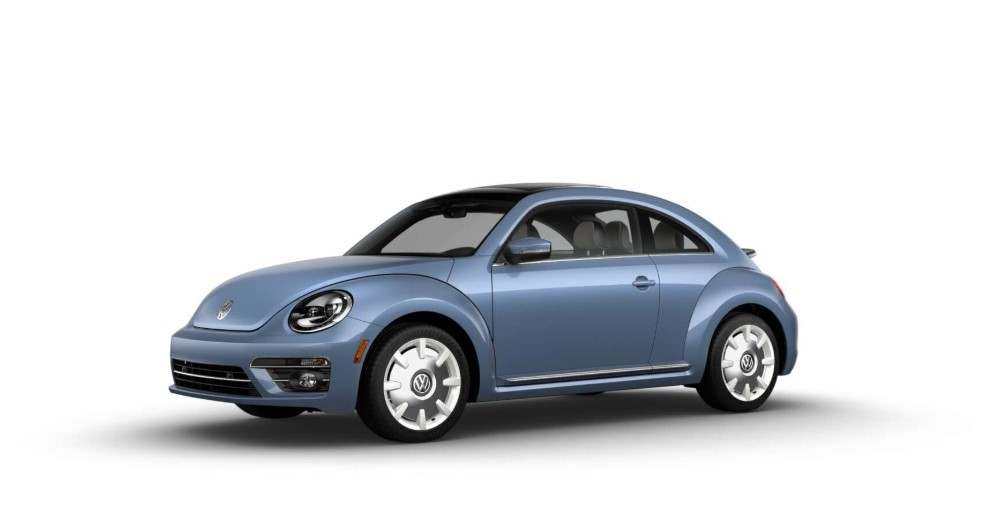 2019 Volkswagen Beetle Final Edition SEL Stonewashed Blue Exterior Side View