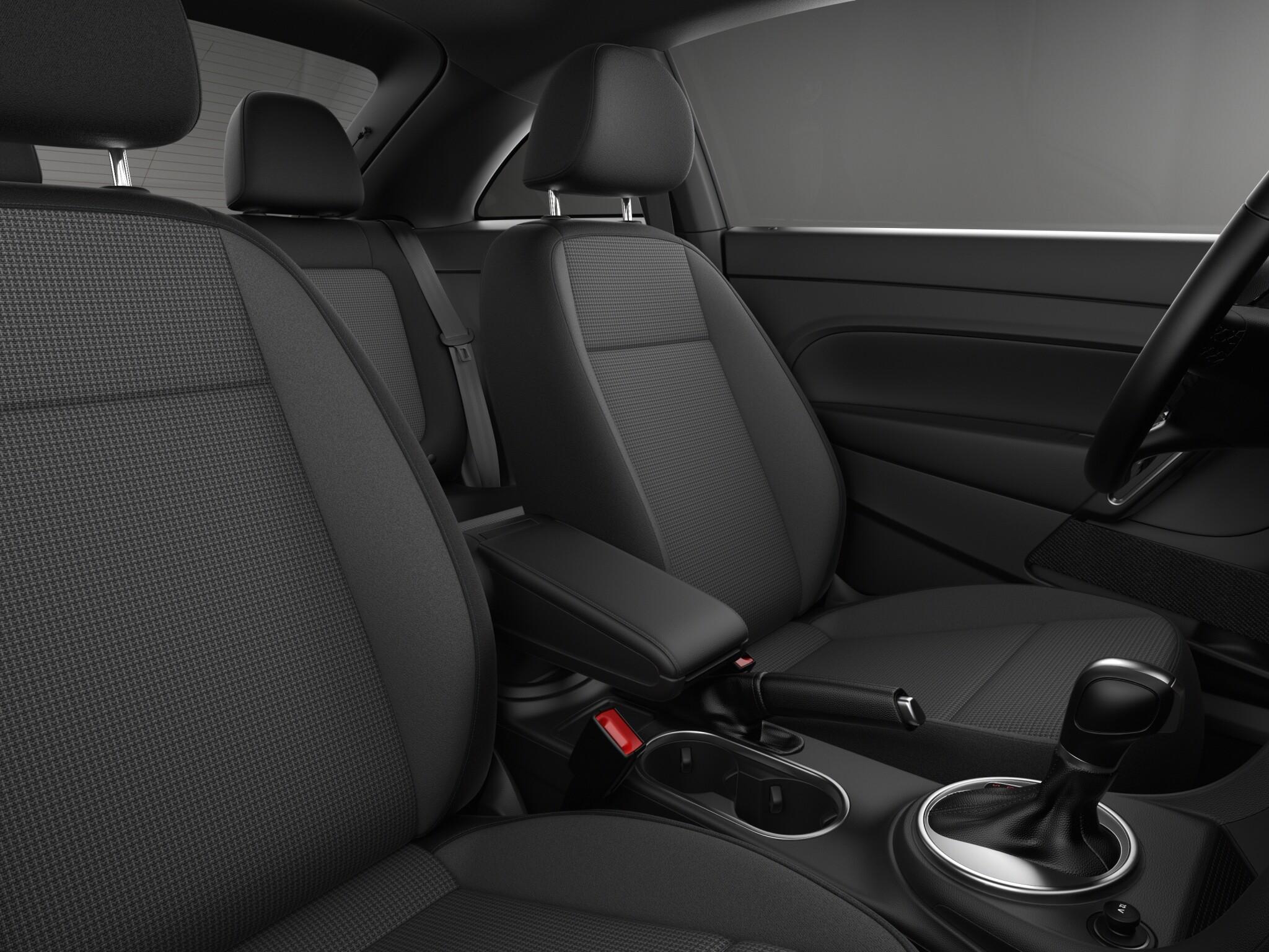 2019 Volkswagen Beetle S Front Interior Seating Picture