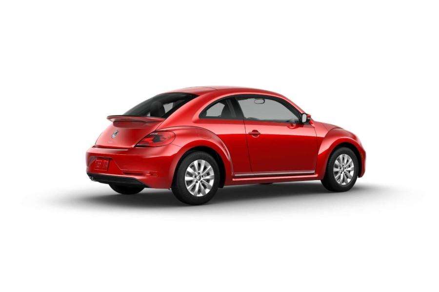 2019 Volkswagen Beetle S Red Exterior Side View