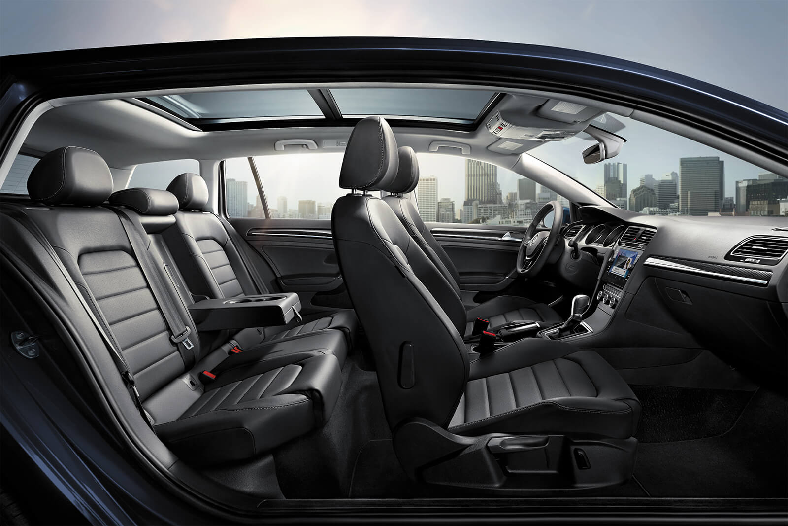 2019 Volkswagen Golf SportWagen Seating Interior