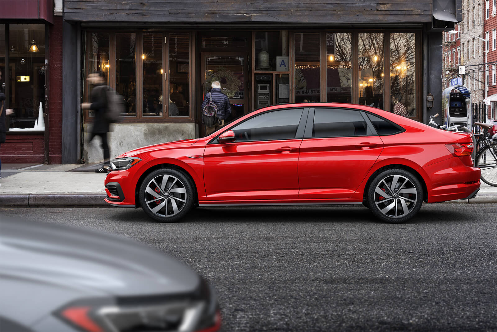 2019 Volkswagen Jetta GLI Red Exterior Side Profile Picture