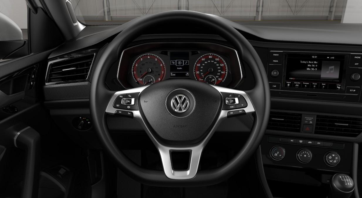 2019 Volkswagen Jetta S Auto Front Dashboard Interior
