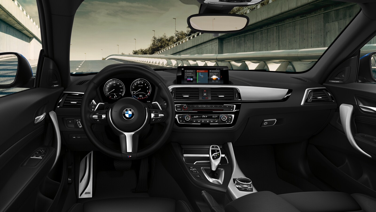2020 BMW 2 Series 230i Front View Interior Dash Picture