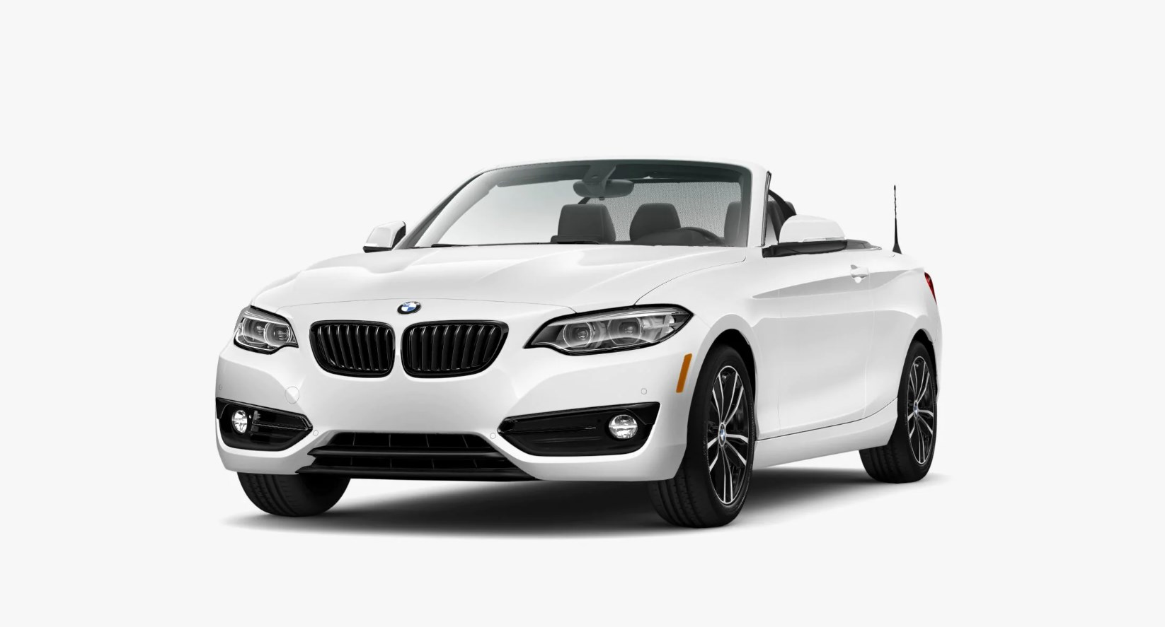 2020 BMW 230i Convertible Front Exterior White Picture