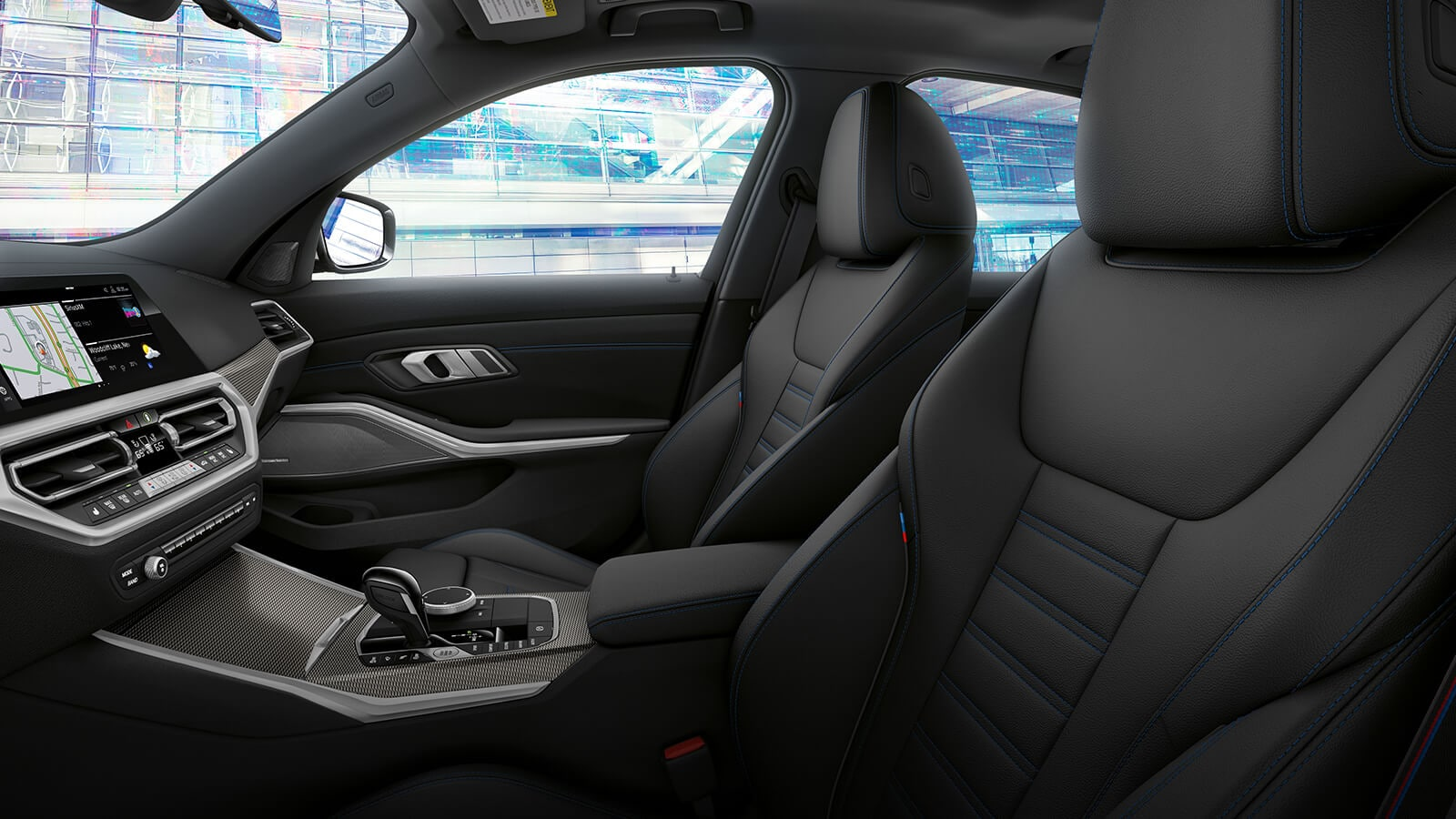 2020 BMW 3 Series M340i Front Interior Seating