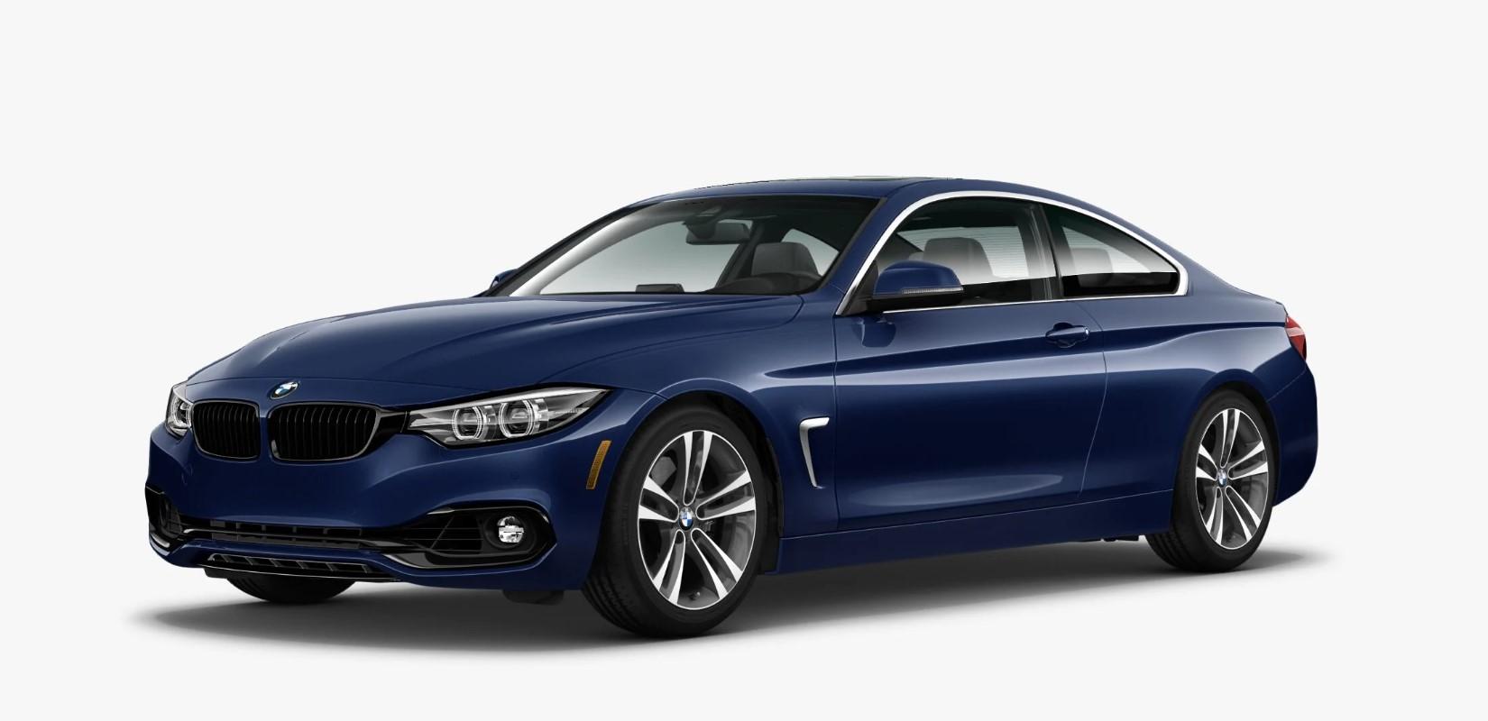 2020 BMW 4 Series 440i Mediterranean Blue Front Exterior