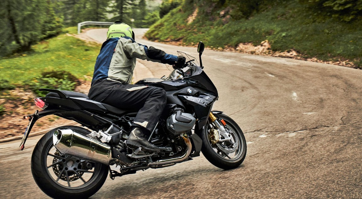 2020 BMW R 1250 RS Back Side View Picture