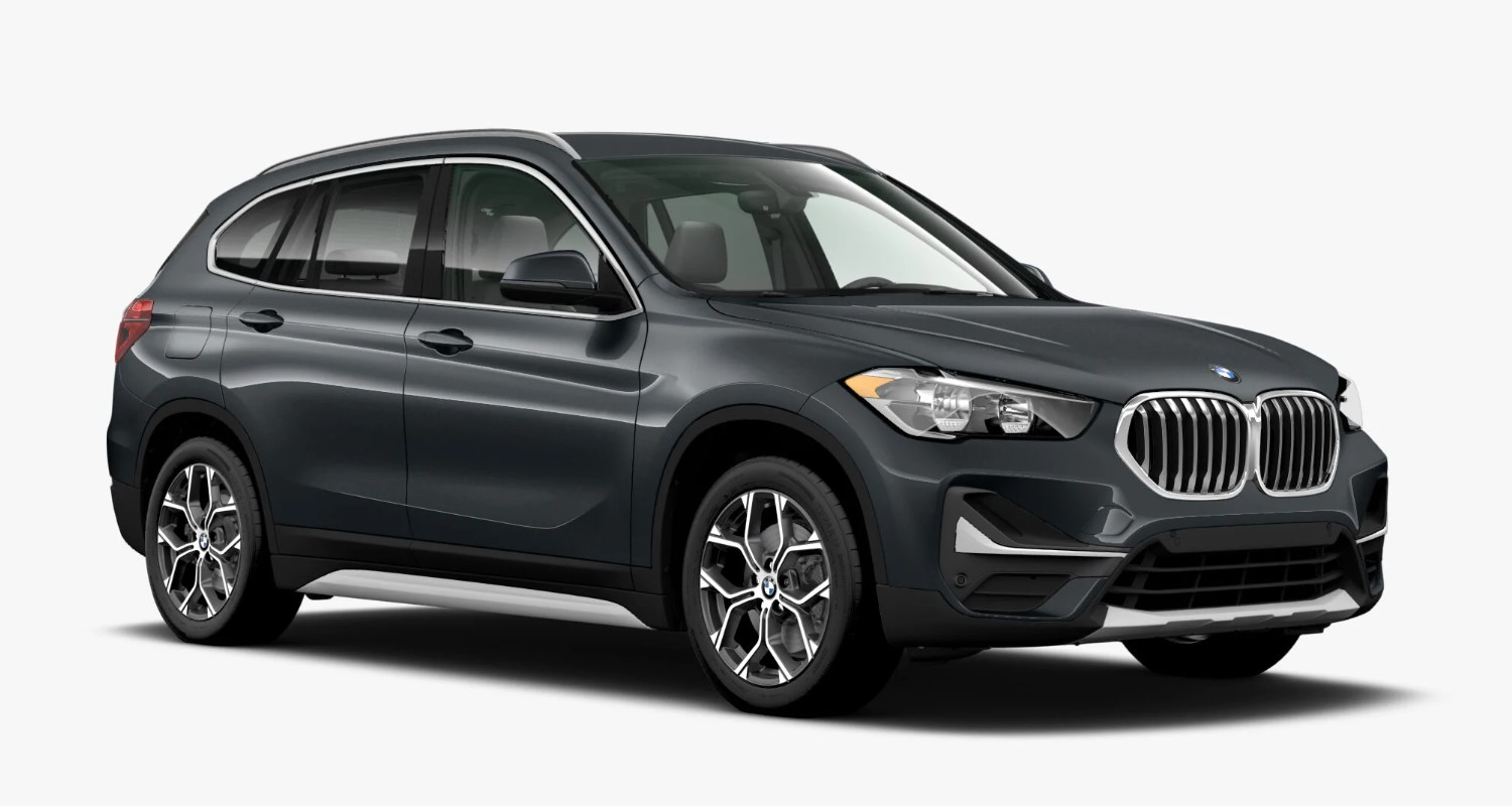 2020 BMW X1 sDrive28i Mineral Grey Exterior Front View