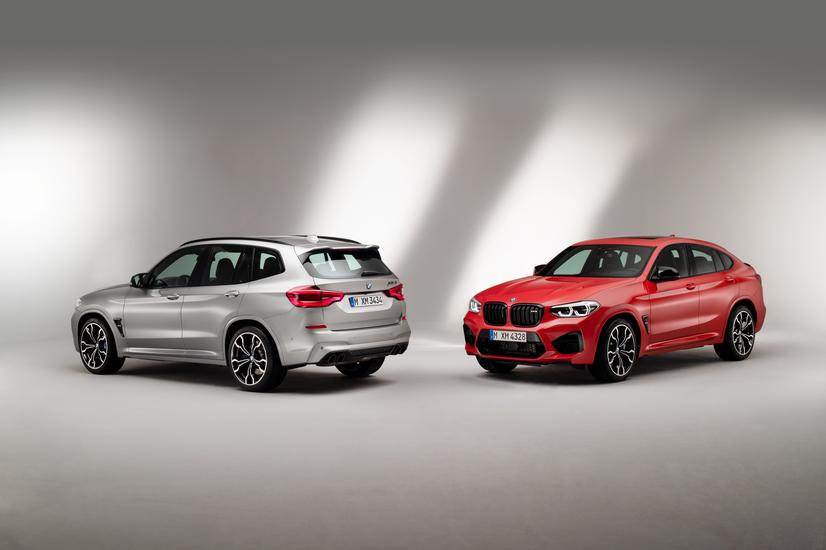 2020 BMW X3 M and X4 M Exterior Pictures