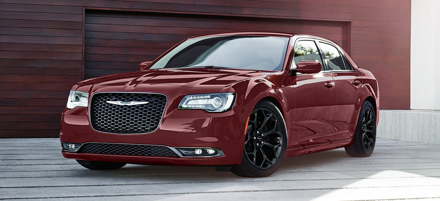 2020 Chrysler 300 Front View Red Exterior Picture