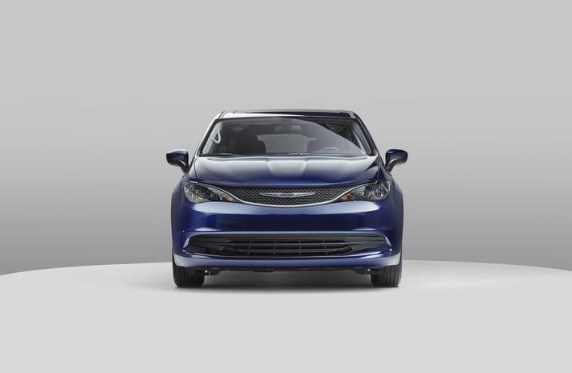 2020 Chrysler Voyager Front Exterior Navy Blue Picture