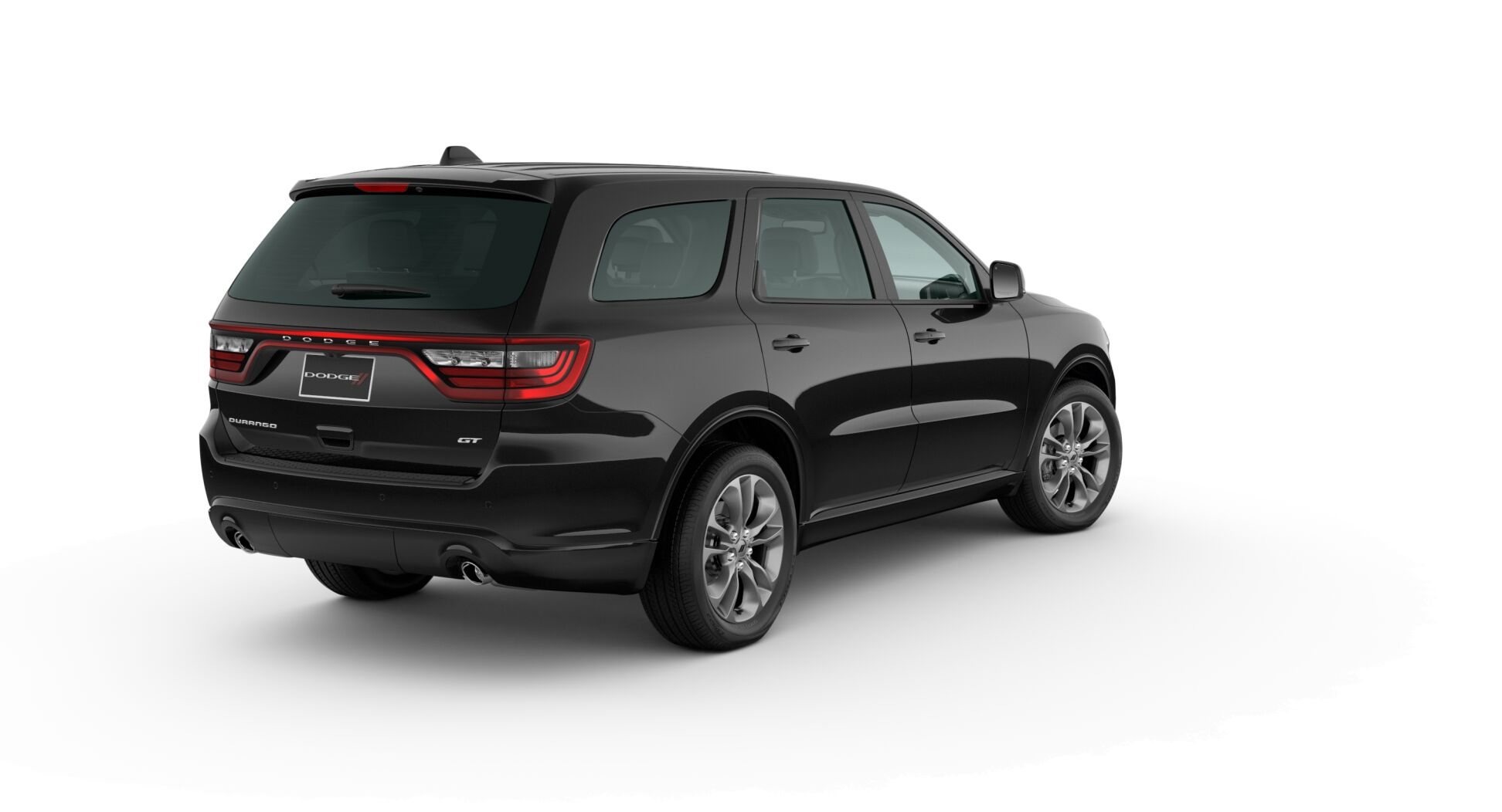 2020 Dodge Durango GT Plus Black Rear Exterior Picture
