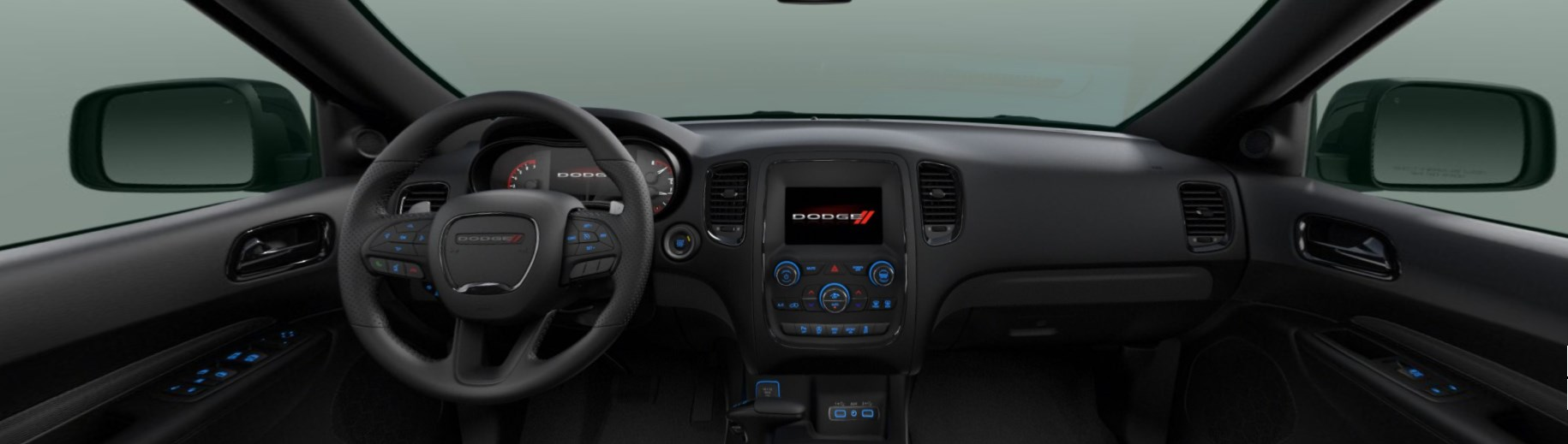 2020 Dodge Durango GT Plus Front Interior Dash Picture
