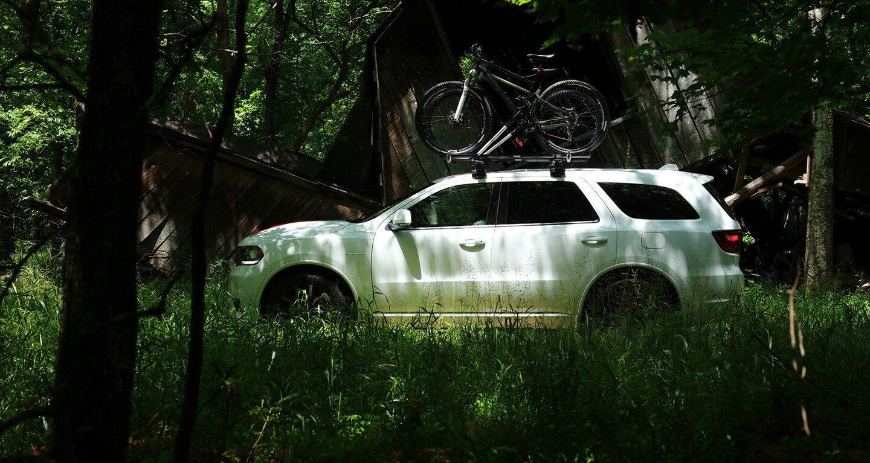 2020 Dodge Durango White Exterior Side View