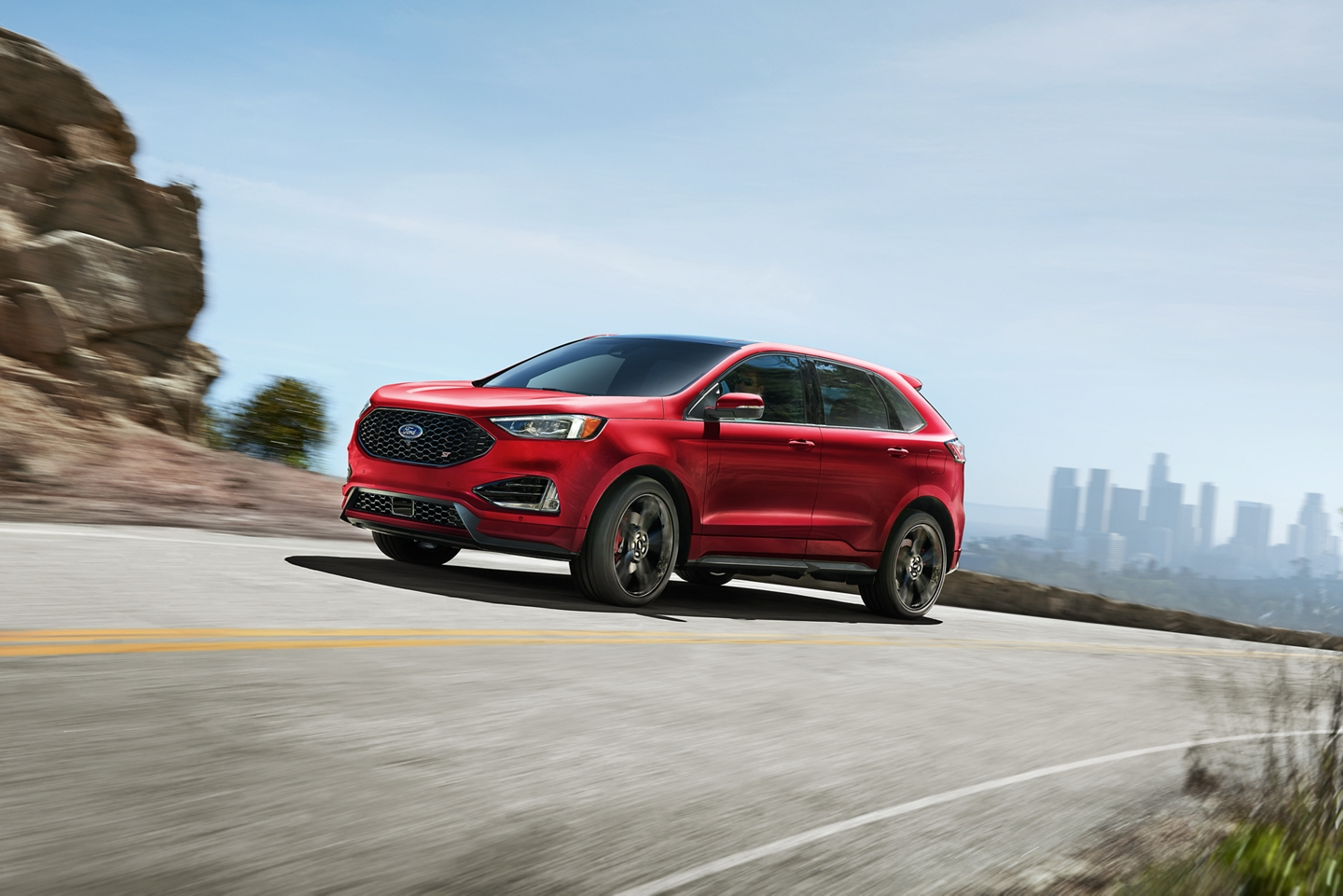 2020 Ford Edge Front Red Exterior