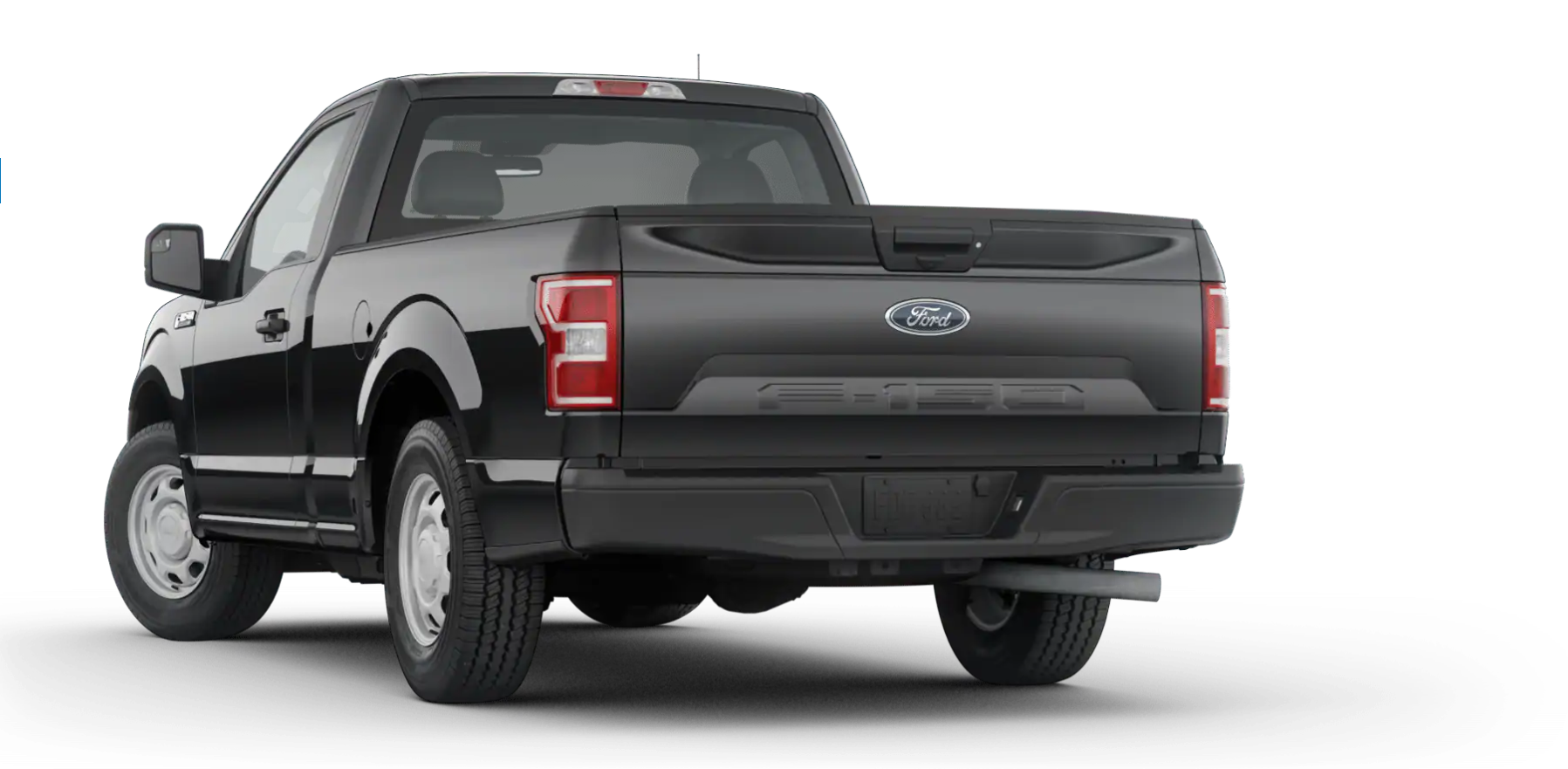2020 Ford F-150 XL Rear View Black Exterior Picture.png