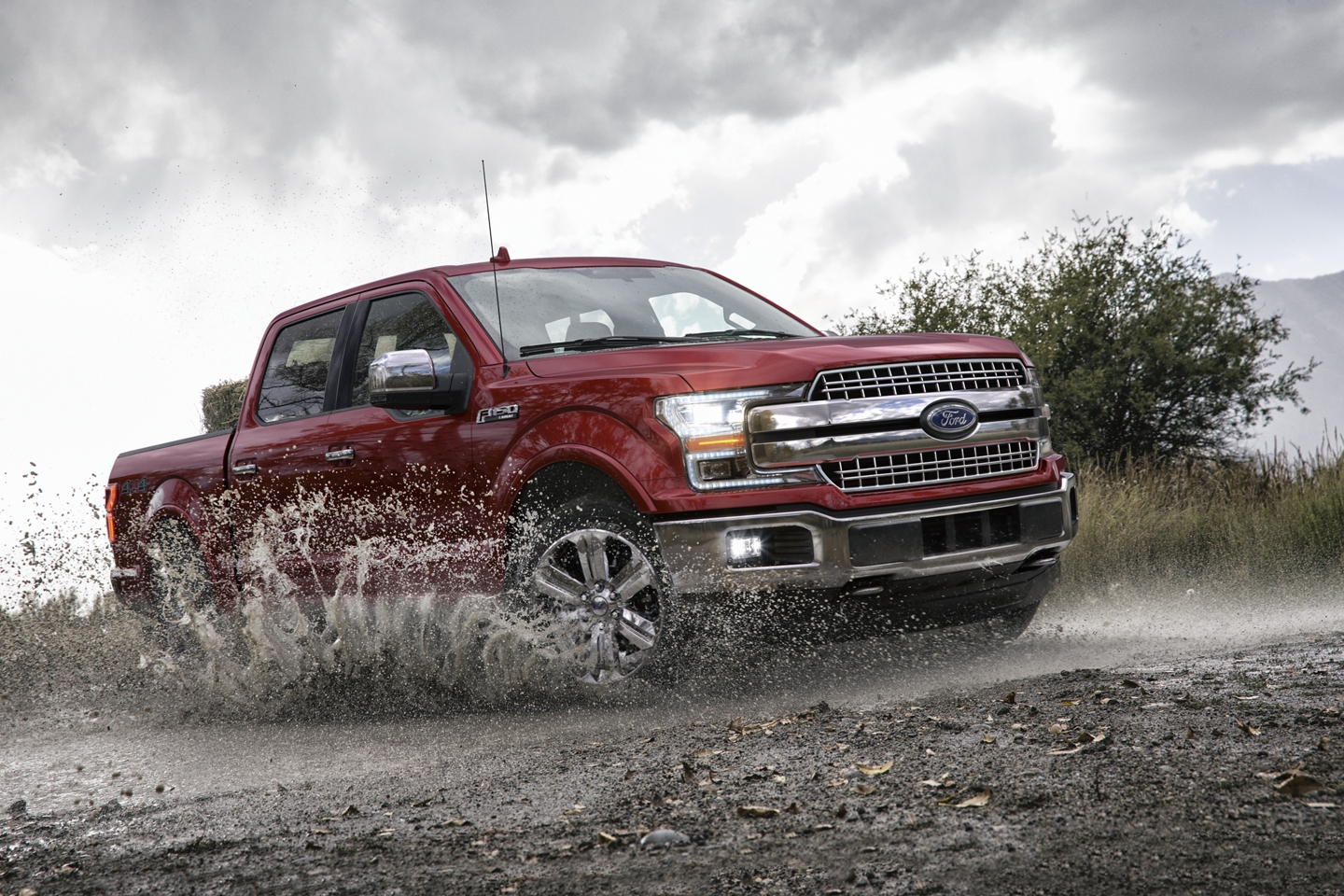 2020 Ford F-150 Front Red Exterior Picture Off-Road Picture