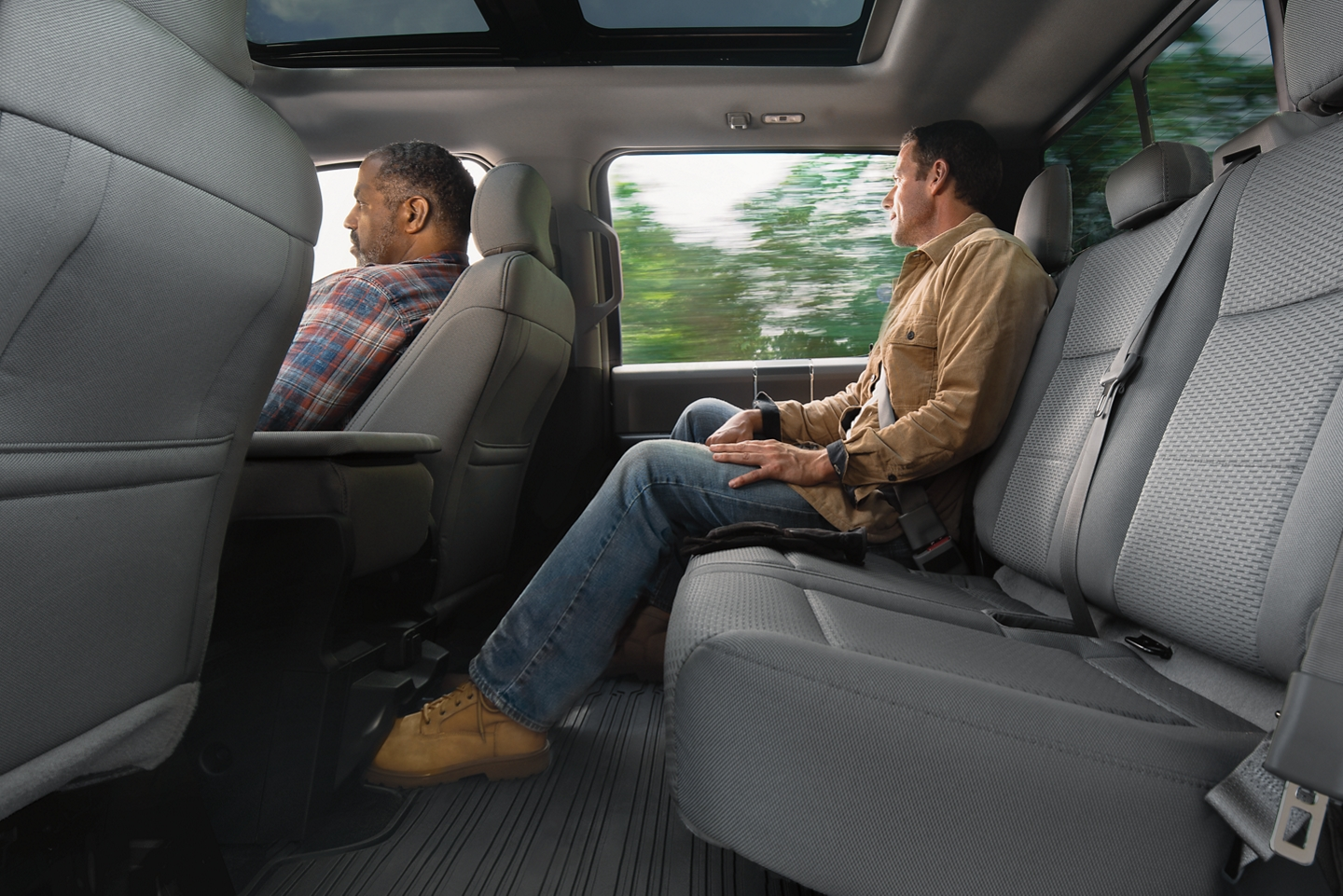 2020 Ford F-150 Side View Seats Interior Picture