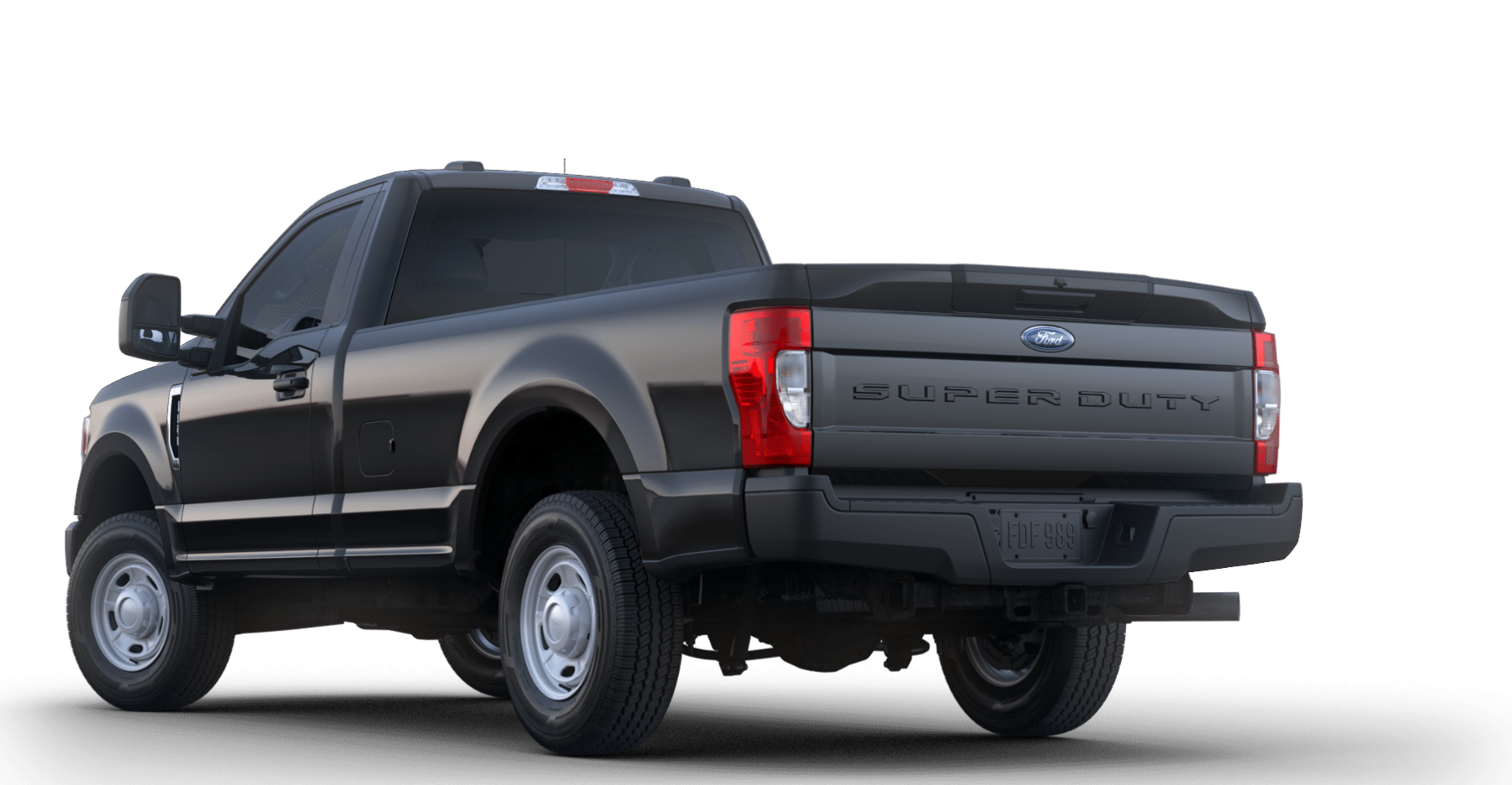 2020 Ford Super Duty F-250 Rear View Black Exterior Picture.png