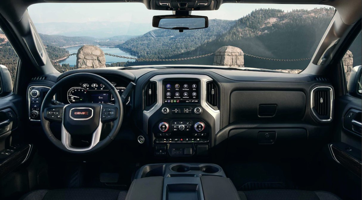 2020 GMC Sierra 1500 Front View Front Interior Dash Picture