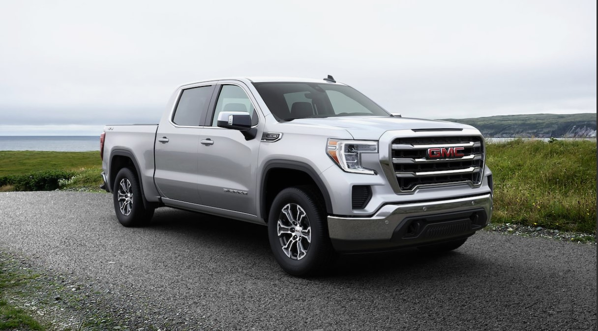 2020 GMC Sierra 1500 Side View Gray Exterior Picture