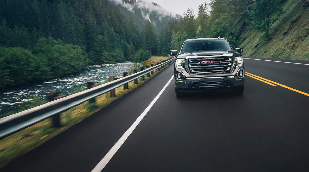 2020 GMC Sierra Front View Exterior Picture