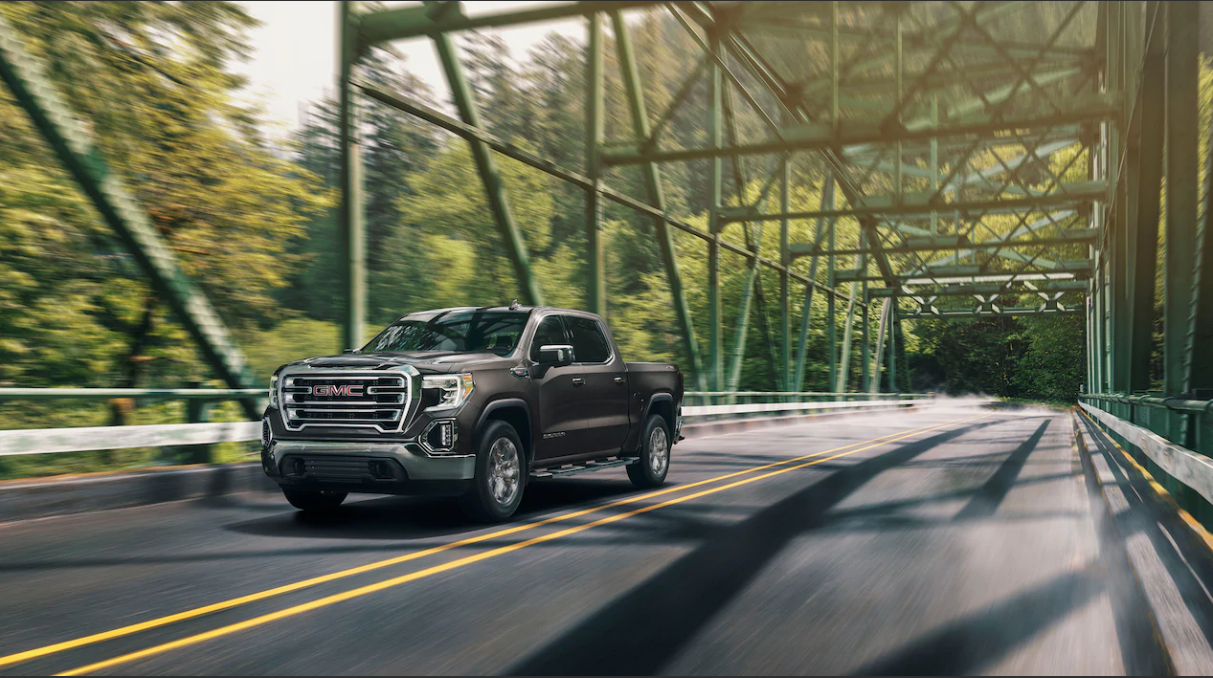 2020 GMC Sierra Front View Gray Exterior Picture
