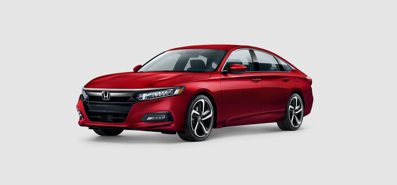 2020 Honda Accord Sport Red Front Exterior Picture