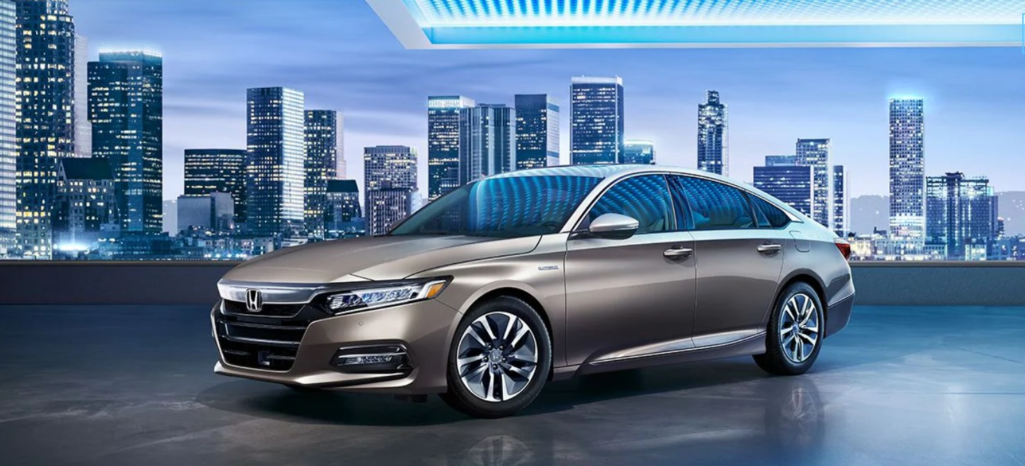 2020 Honda Accord Front View Silver Picture