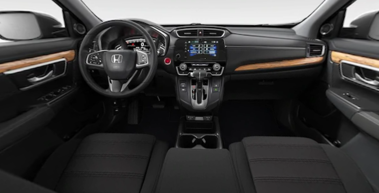 2020 Honda CR-V EX Front Interior Dash Picture