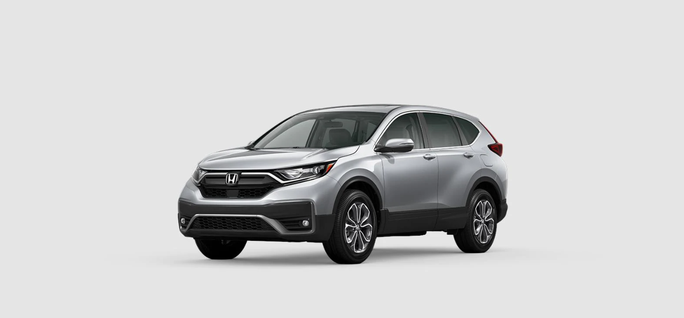 2020 Honda CR-V EX Front Silver Exterior Picture