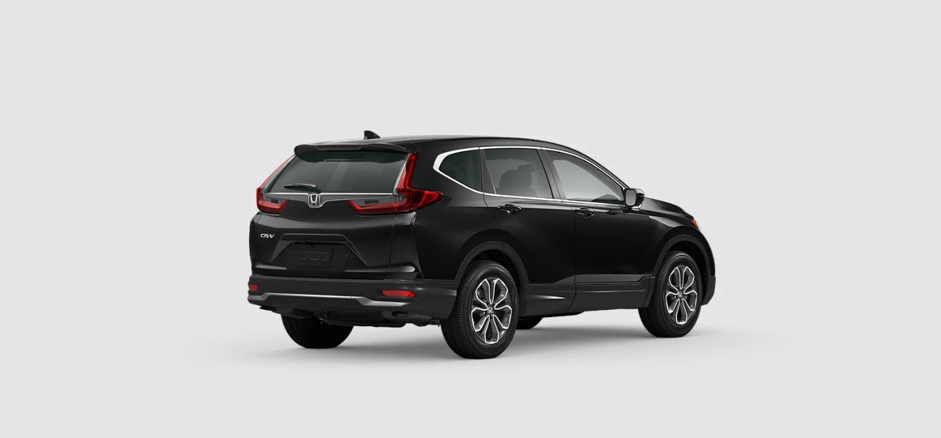 2020 Honda CR-V EX Rear Black Exterior Picture