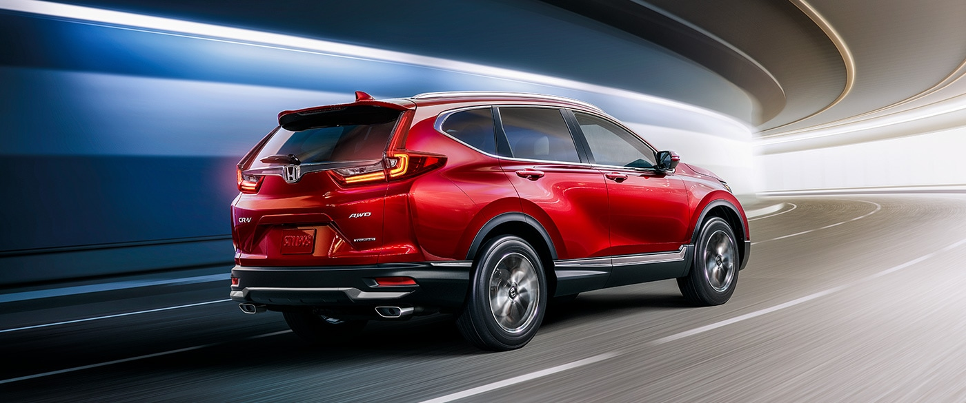 2020 Honda CR-V Red Exterior Side View Picture