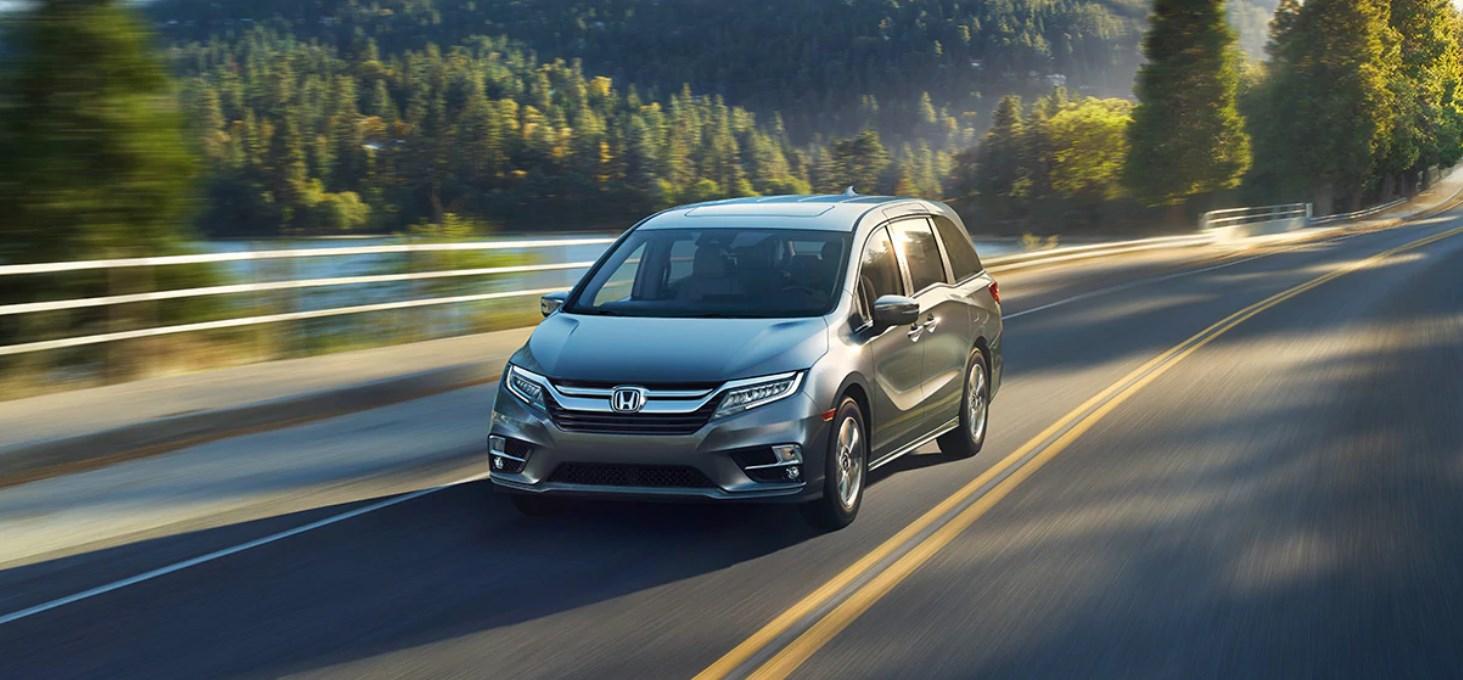 2020 Honda Odyssey Front Gray Exterior