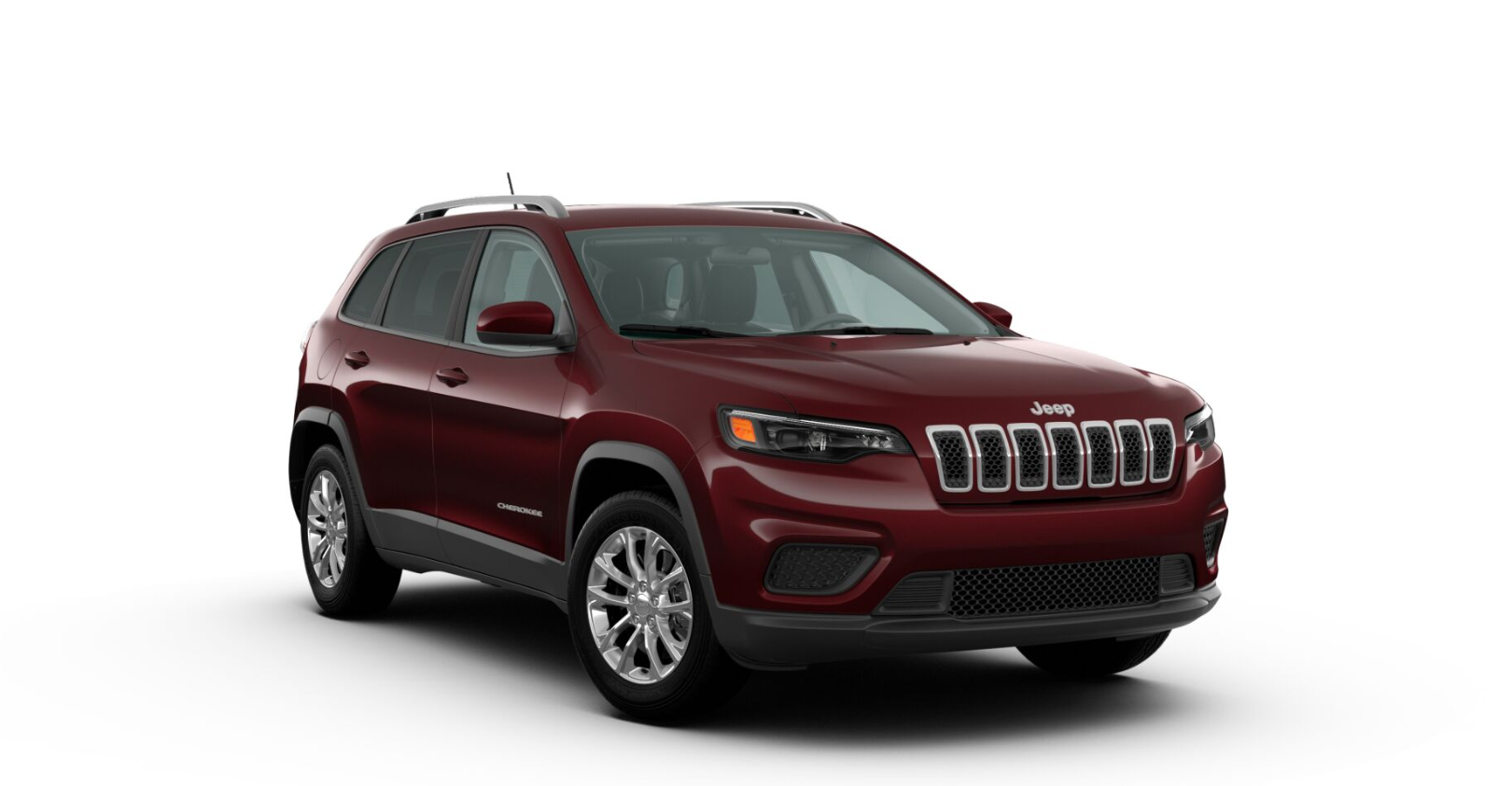 2020 Jeep Cherokee Latitude Front Red Exterior Picture