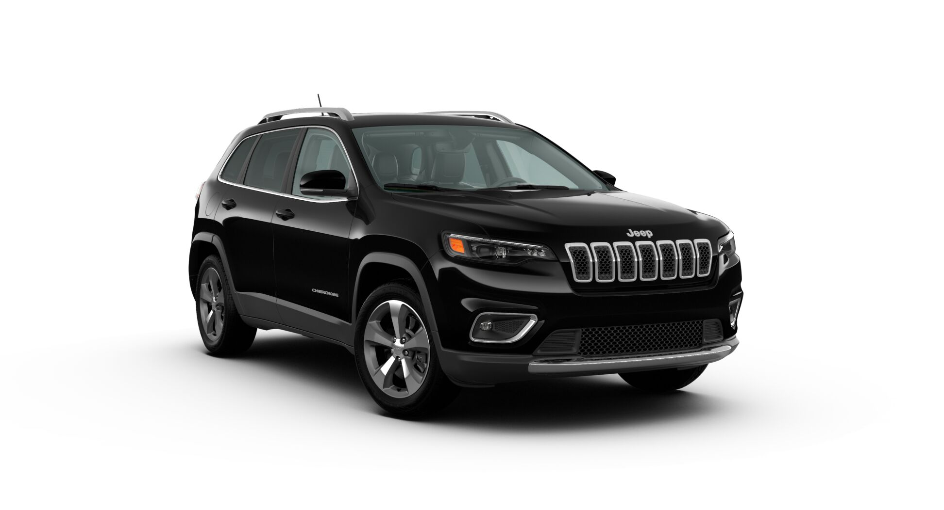 2020 Jeep Cherokee Limited Front Exterior Black Picture
